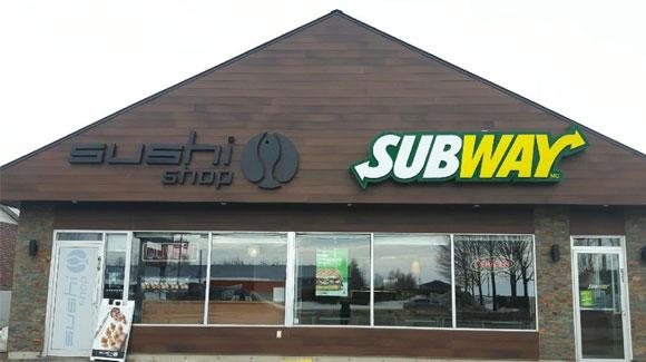 Groupe Restos Bégin - Sushi Shop et Subway